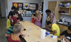 Summer 2015 Makers in Motion Camp at the Peoria Riverfront Museum